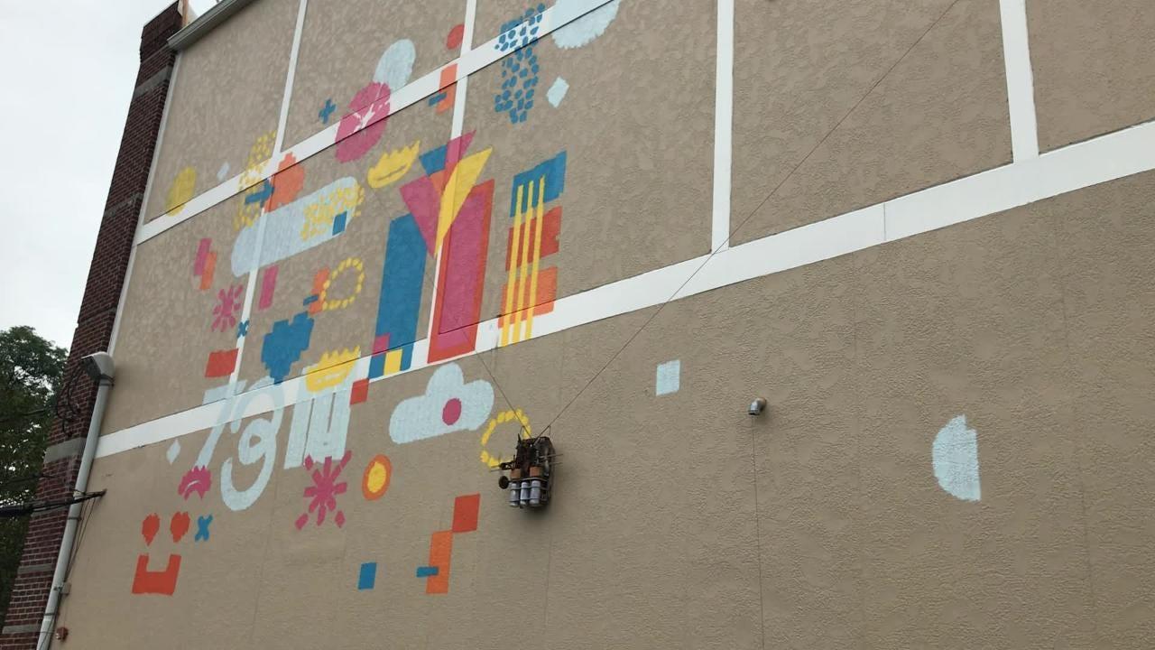 WATCH: Metuchen welcomes new mural downtown