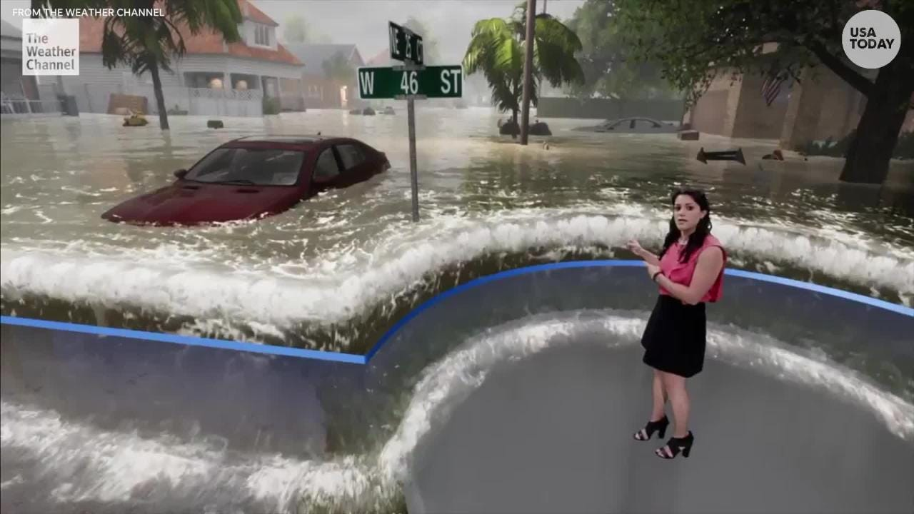 The Weather Channel's hurricane graphics are blowing our minds