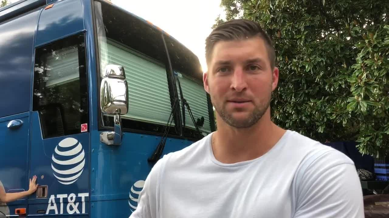 While in Oxford with SEC Nation, analyst and former NFL and Florida quarterback Tim Tebow gives his evaluation of Ole Miss quarterback Jordan Ta'amu.