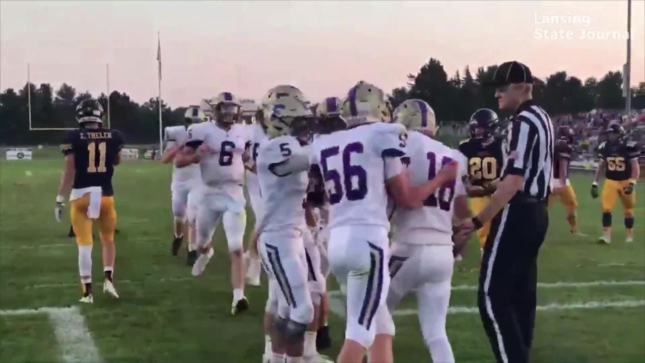 The highlights from the Haslett-Fowlerville football game on Friday, Sept. 14, 2018.