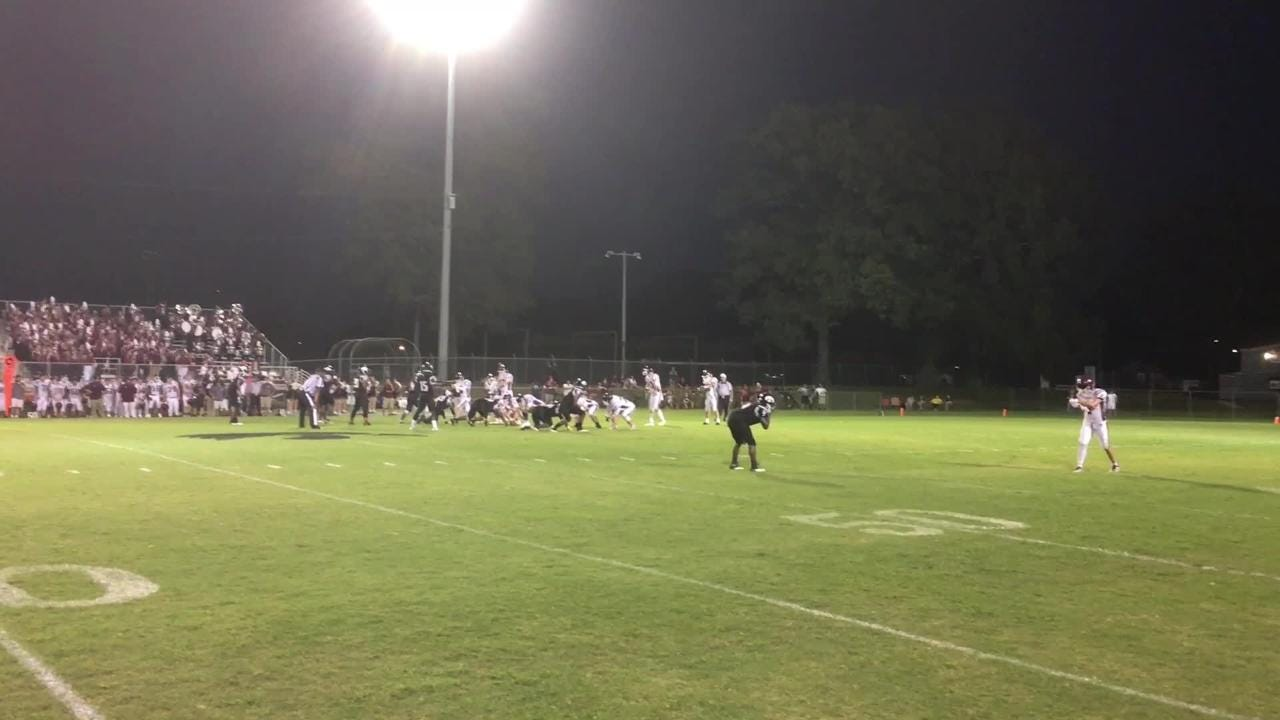 Action from South Side 17-10 victory over Hardin County in Week 5.