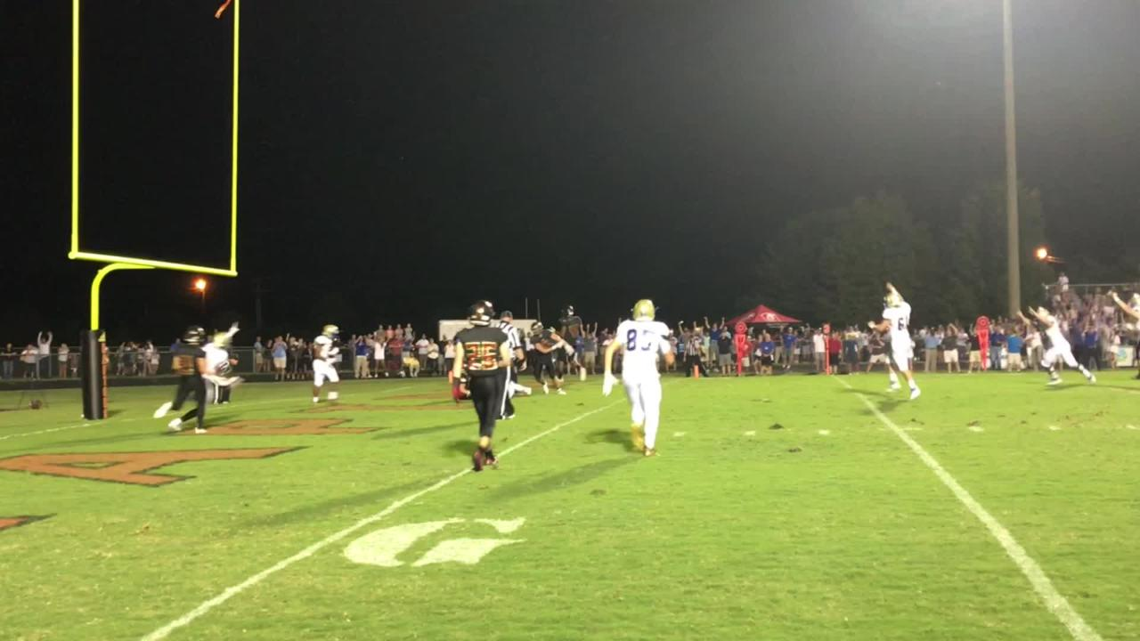 Brentwood captured a 31-28 Battle of the Woods victory over crosstown rival Ravenwood on Friday