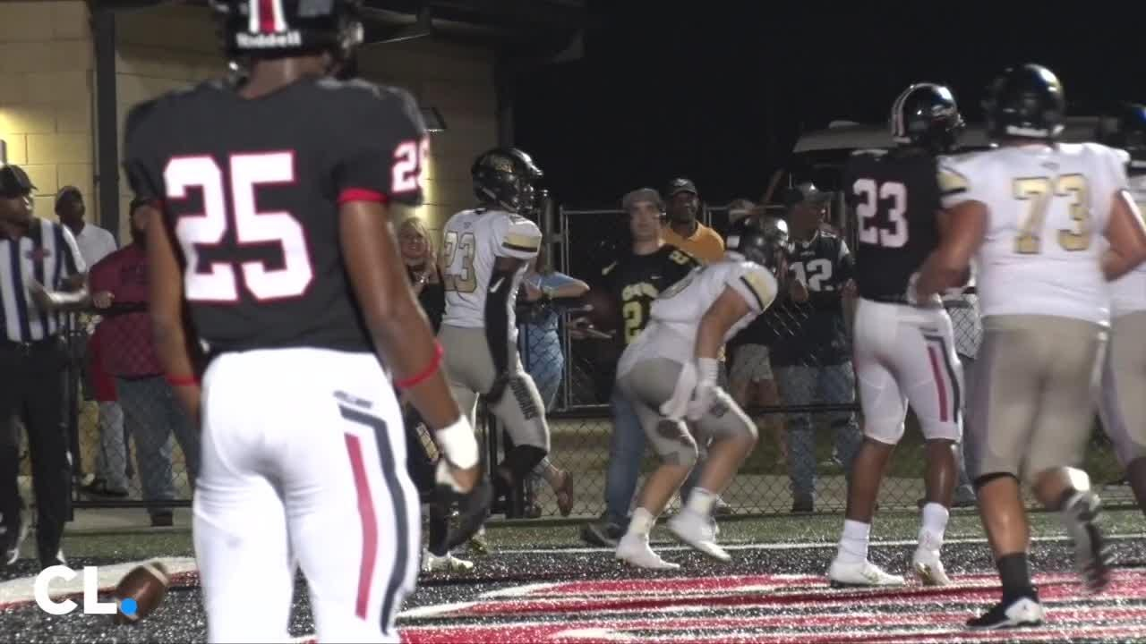 The No. 7 Brandon Bulldogs topped No. 3 Northwest Rankin in a 34-13 win Friday night, with senior running back Dallas Smith scoring three touchdowns.