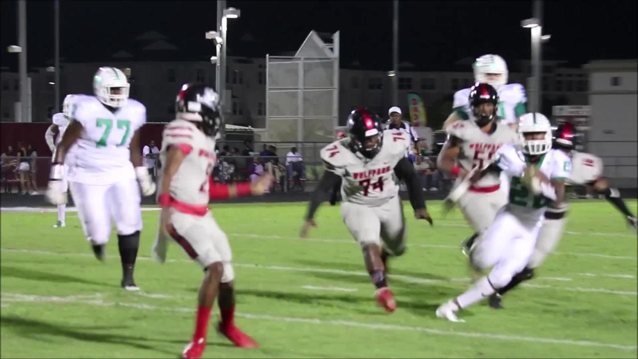 Video from Fort Myers' 28-14 win over South Fort Myers in high school football.