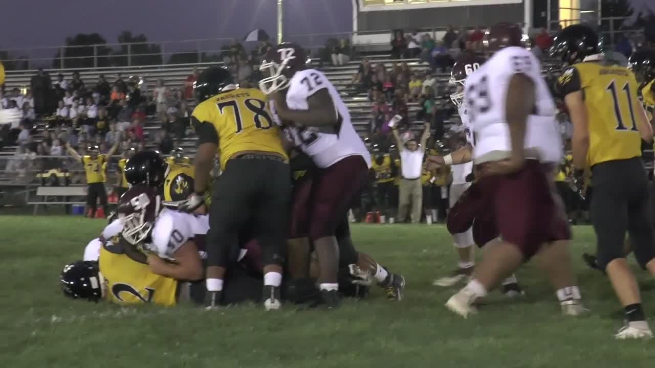 Newark completes goal line stand