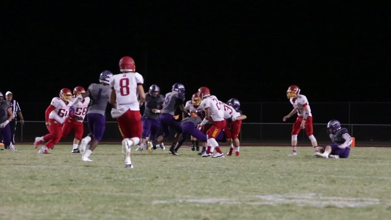 Hemet, the fifth-ranked team in Division 11, was to be the Knights' first real test, and Shadow Hills looked like a class above the entire game.