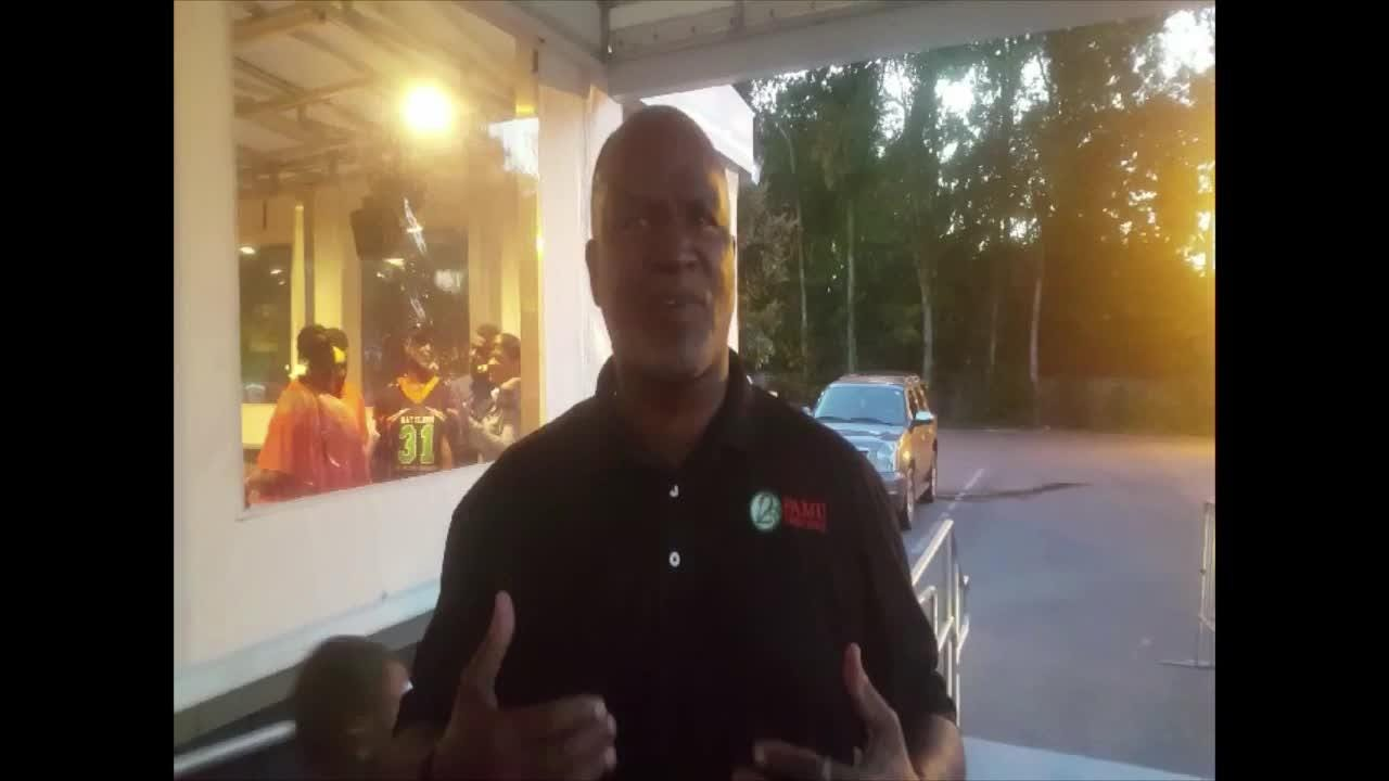 WATCH: Albert Chester on celebrating the 40th anniversary of FAMU's national title.