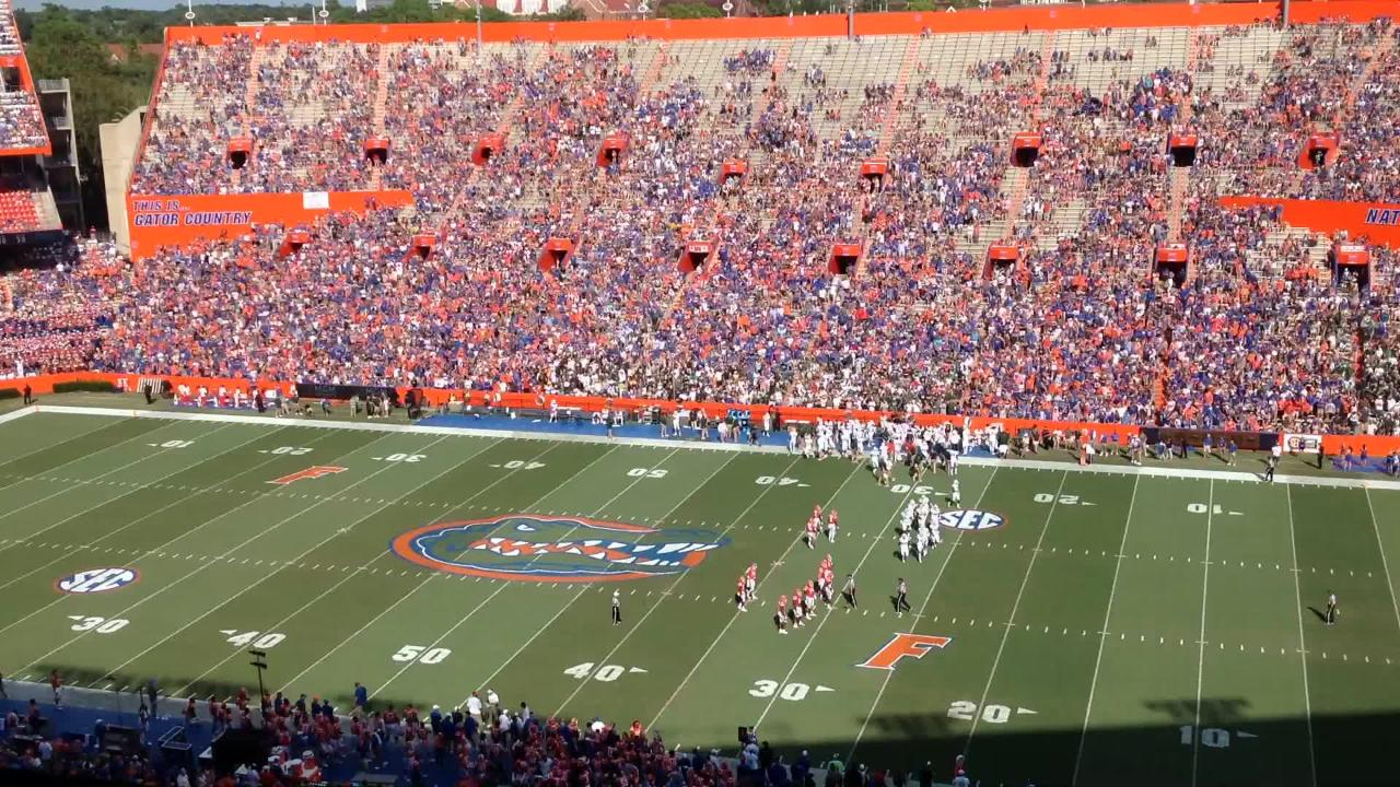 Watch CSU football's game at Florida in 22 seconds.