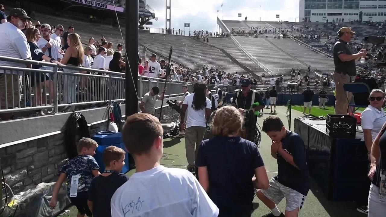 Watch: The story behind the Penn State Sour Patch Guy