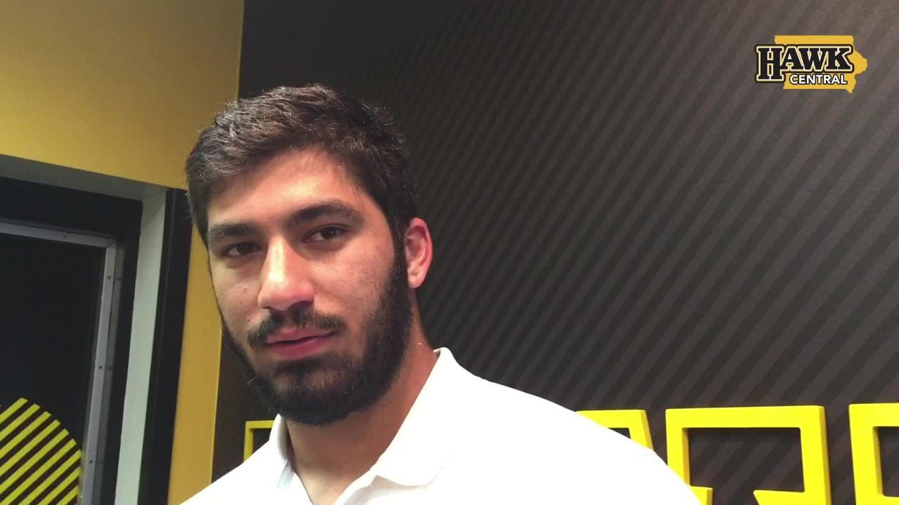 Fact check: True. Iowa defensive end A.J. Epenesa and the Hawkeyes held Northern Iowa to six rushing yards in a 38-14 win.