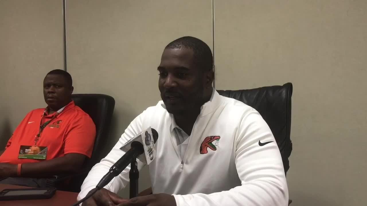 WATCH: FAMU head coach Willie Simmons talks about clock management, turnovers and penalties in 18-16 loss to Jackson State.