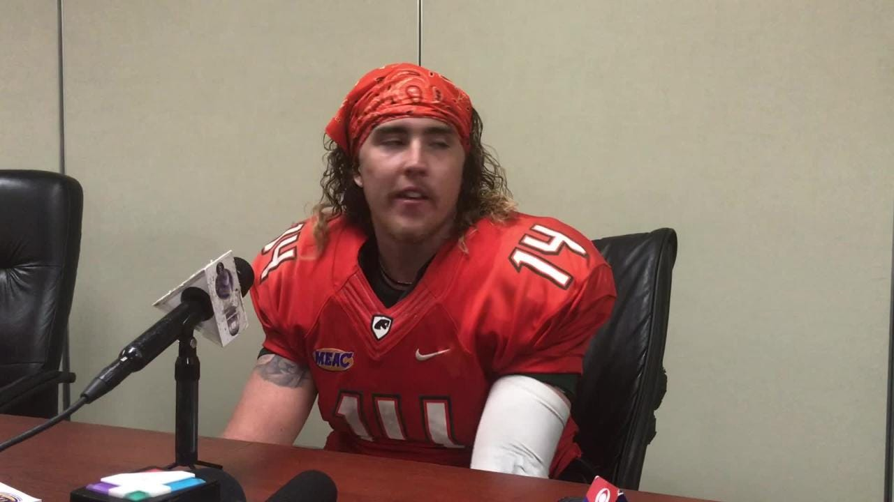 WATCH: Quarterback Ryan Stanley talks about the miscues which led to the 18-16 loss to Jackson State.