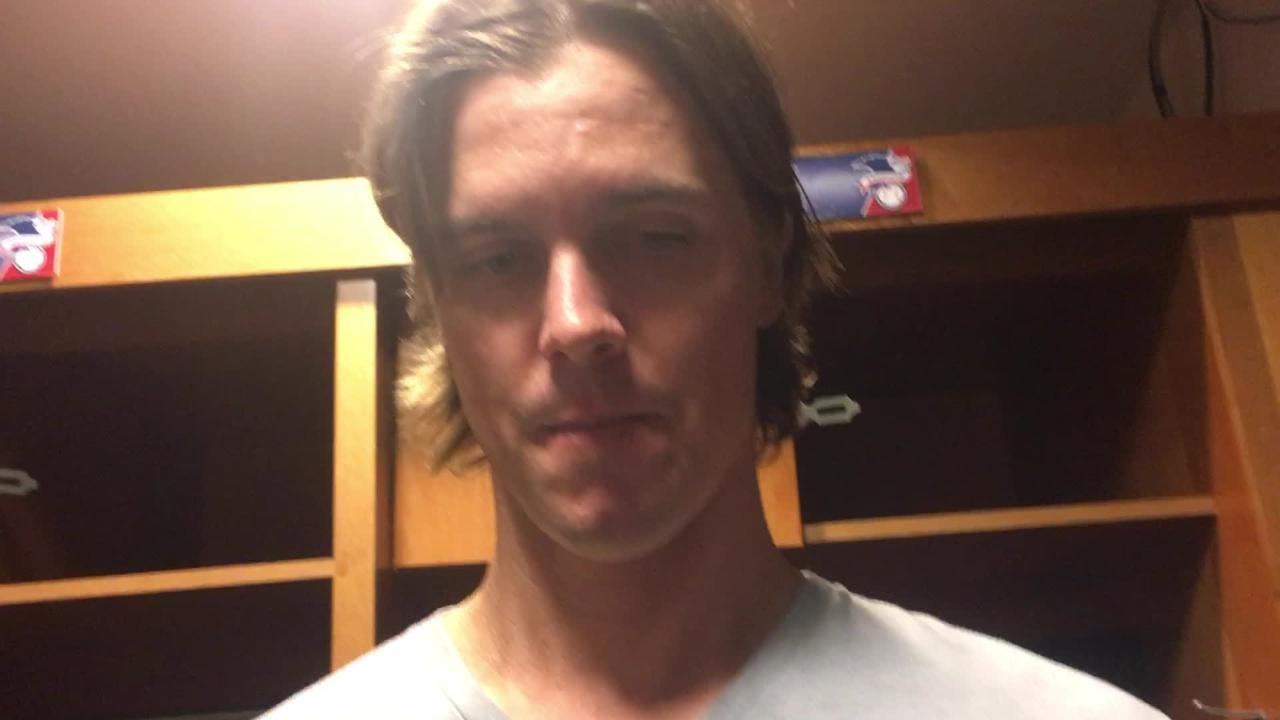 Diamondbacks right-hander Zack Greinke gave up four runs in 6 1/3 innings against the Astros on Sunday in a 5-4 loss.