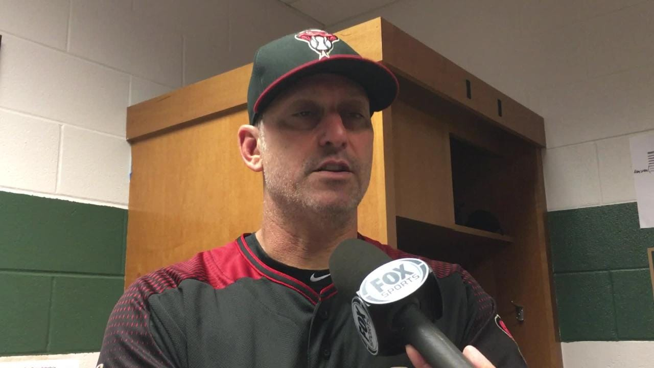 Manager Torey Lovullo talks about his team's late rally and the earlier defensive miscues that cost the Diamondbacks in a 5-4 loss to the Astros.