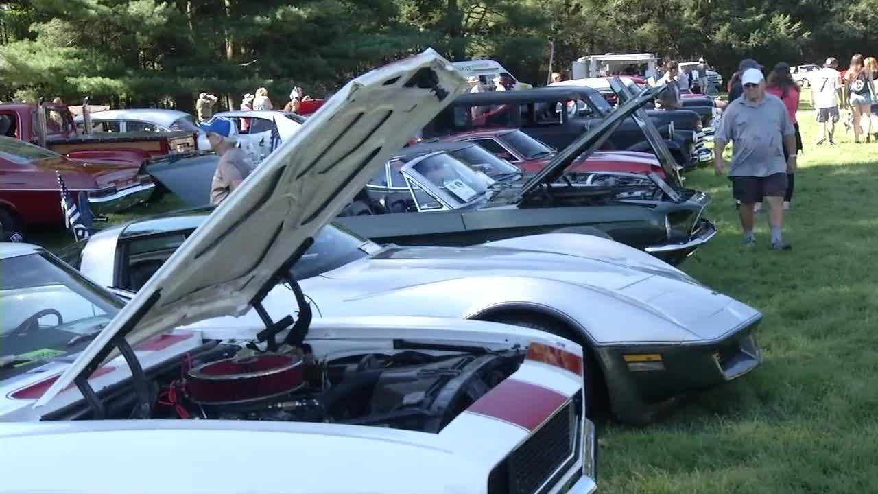 More than 500 antique and restored cars were at the Hagley Museum Sunday for the venue's annual car show.  9/17/18
