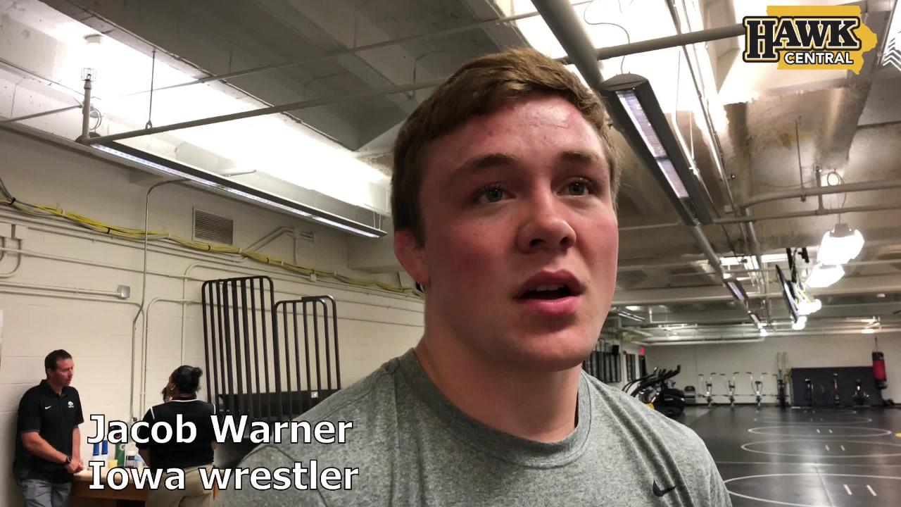 Iowa's Jacob Warner before the 2018 Junior world championships: 'The axe is sharpened'