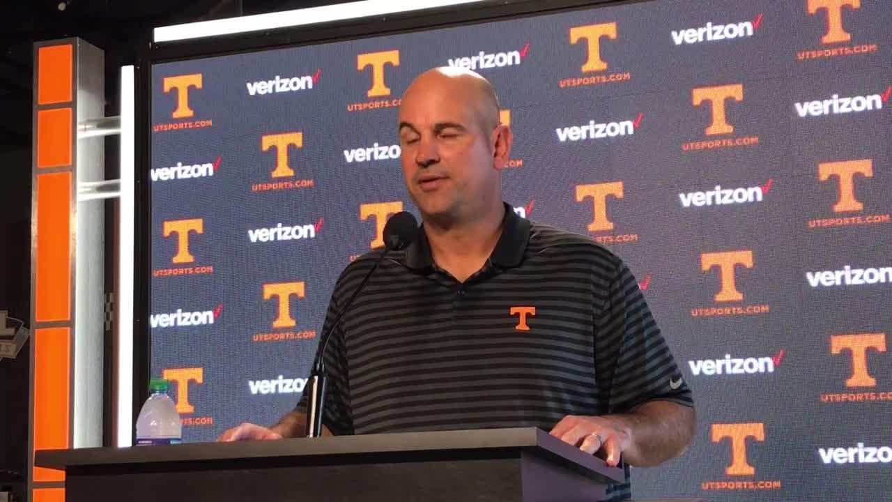 Tennessee coach Jeremy Pruitt grew up watching UT play Florida.