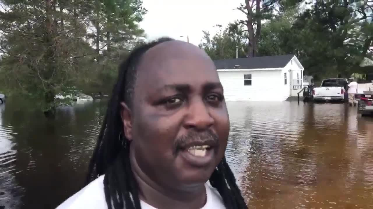 Flooding continues in parts of South Carolina