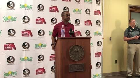 FSU coach Willie Taggart spoke to the media about the state of the program.