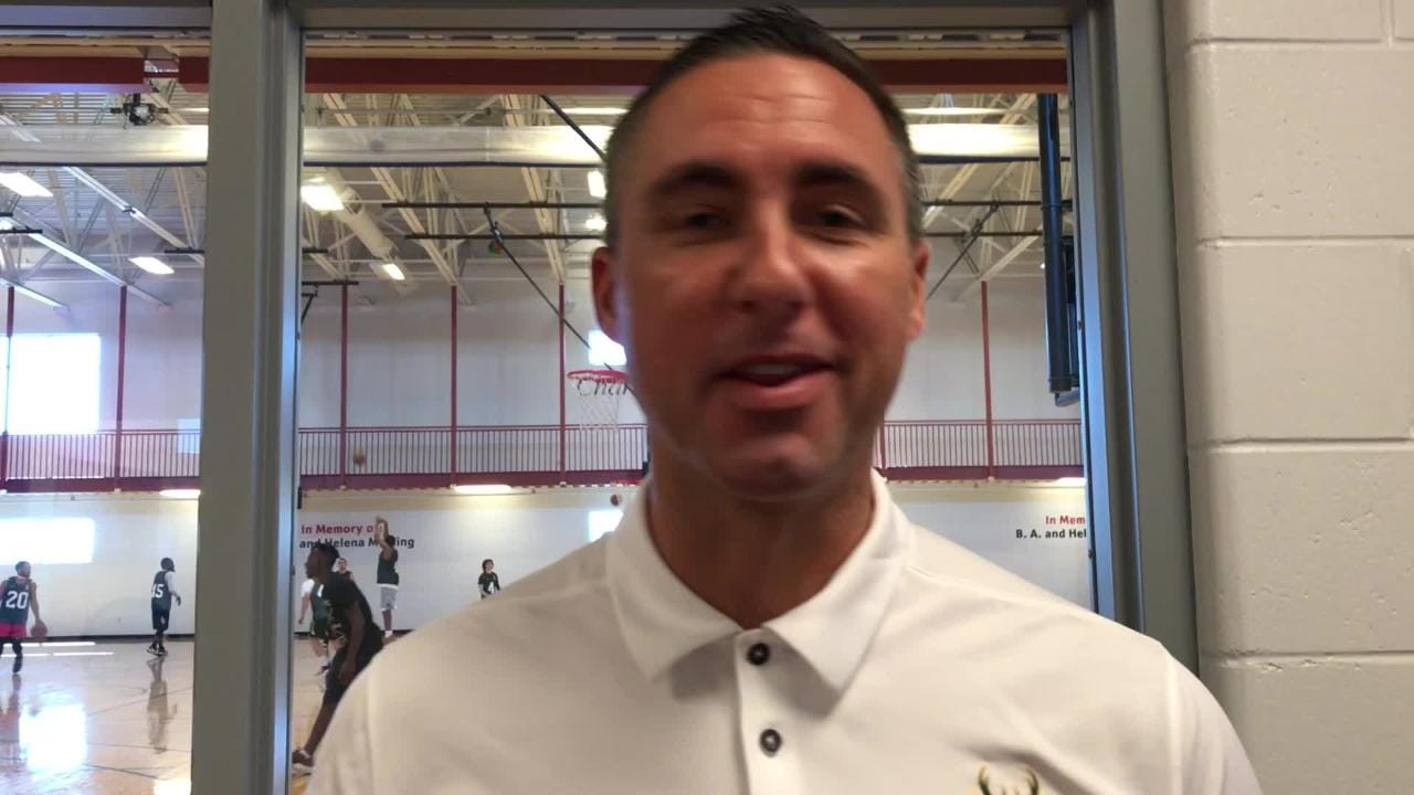Wisconsin Herd general manager Dave Dean discusses local player tryouts in Oshkosh