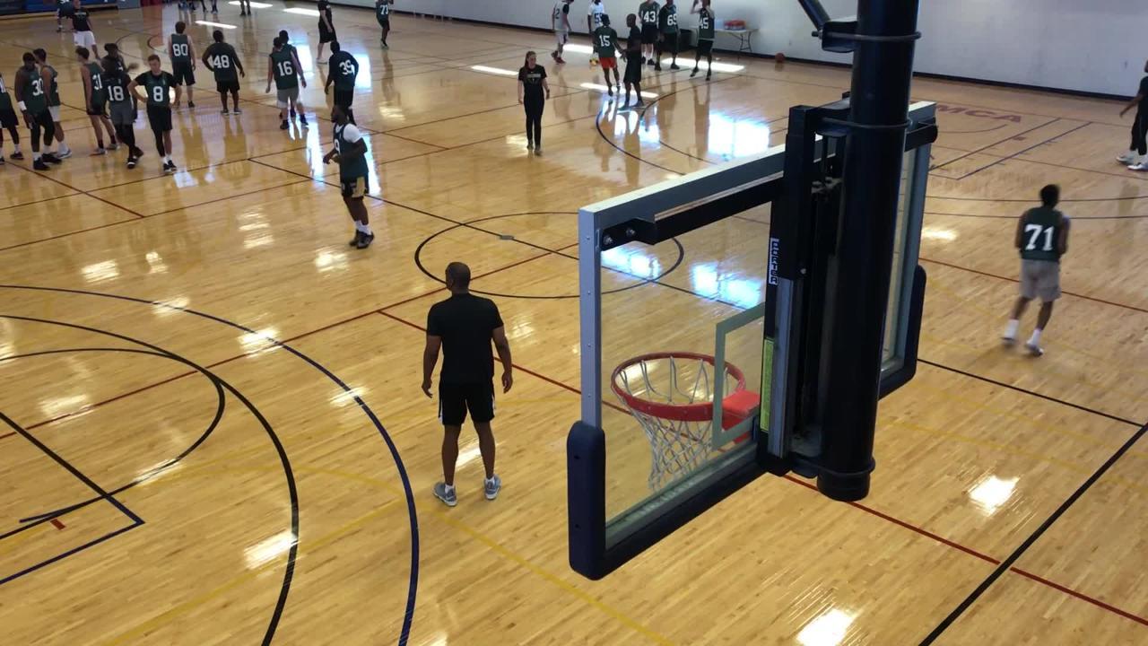 Wisconsin Herd local player tryouts in Oshkosh
