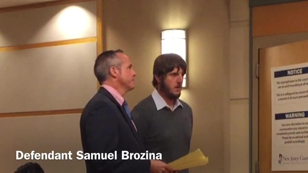 Millville resident Samuel F. Brozina, a former special police officer, admitted in state court on Monday to having child porn on his home computer.