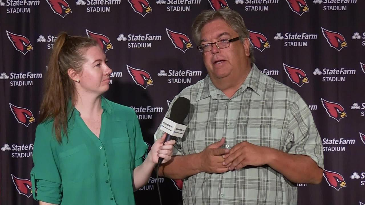 azcentral sports' Katherine Fitzgerald and Bob McManaman analyze the comments from Cardinals head coach Steve Wilks at Monday's press conference.