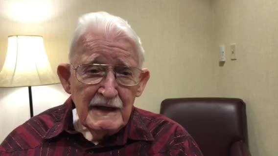 War Chronicles: WWII veteran James Devine on being saved by a fellow soldier who lost his life.