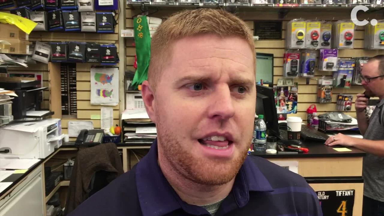 Eric Koch on Nike Sales at Koch Sporting Goods in...
