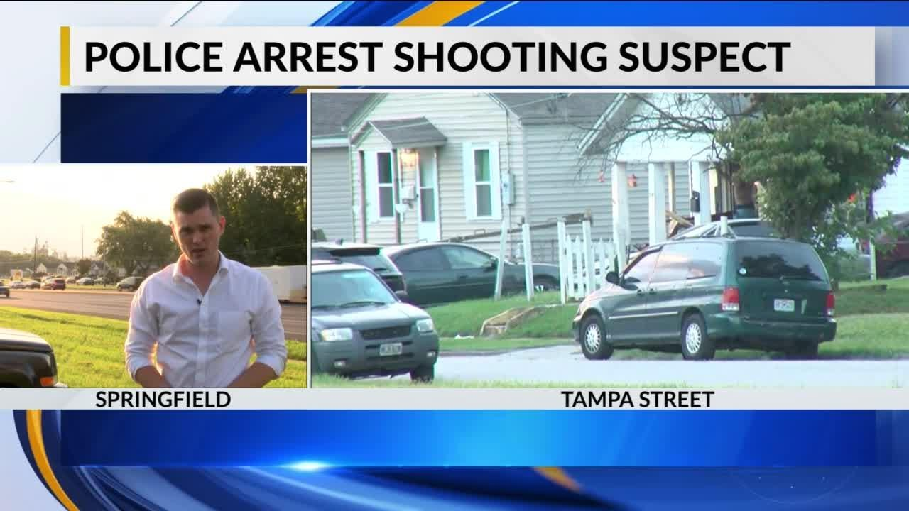 Police shot a suspect with rubber bullets following a standoff on West Tampa early Tuesday, Sept. 18, 2018.
