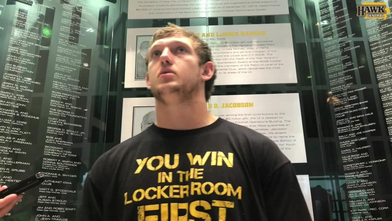 T.J. Hockenson: 'We're just trying to be a championship-level football team'