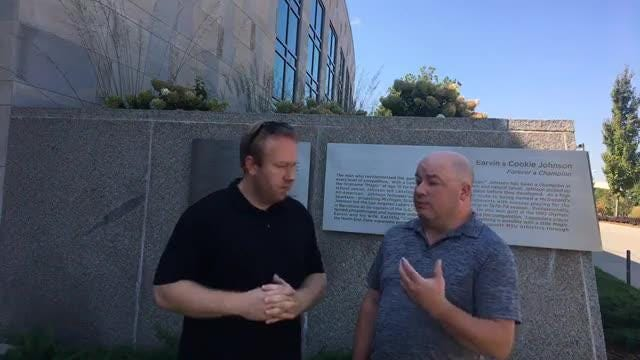 Lansing State Journal's Graham Couch and Detroit Free Press's Chris Solari react to comments from MSU football coach Mark Dantonio's press conference.