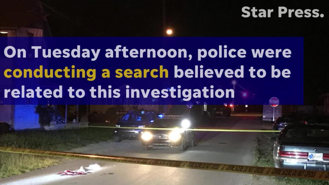 Police search for suspect in Monday night fatal stabbing
