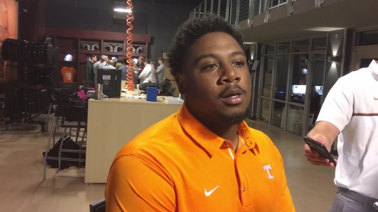 Tennessee Vols nose tackle Shy Tuttle discusses the upcoming game against Florida.