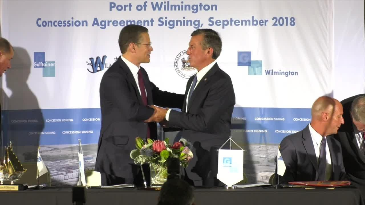 Under the terms of the 50-year deal, a U.S. subsidiary of Gulftainer will take over operations of the existing port of Wilmington