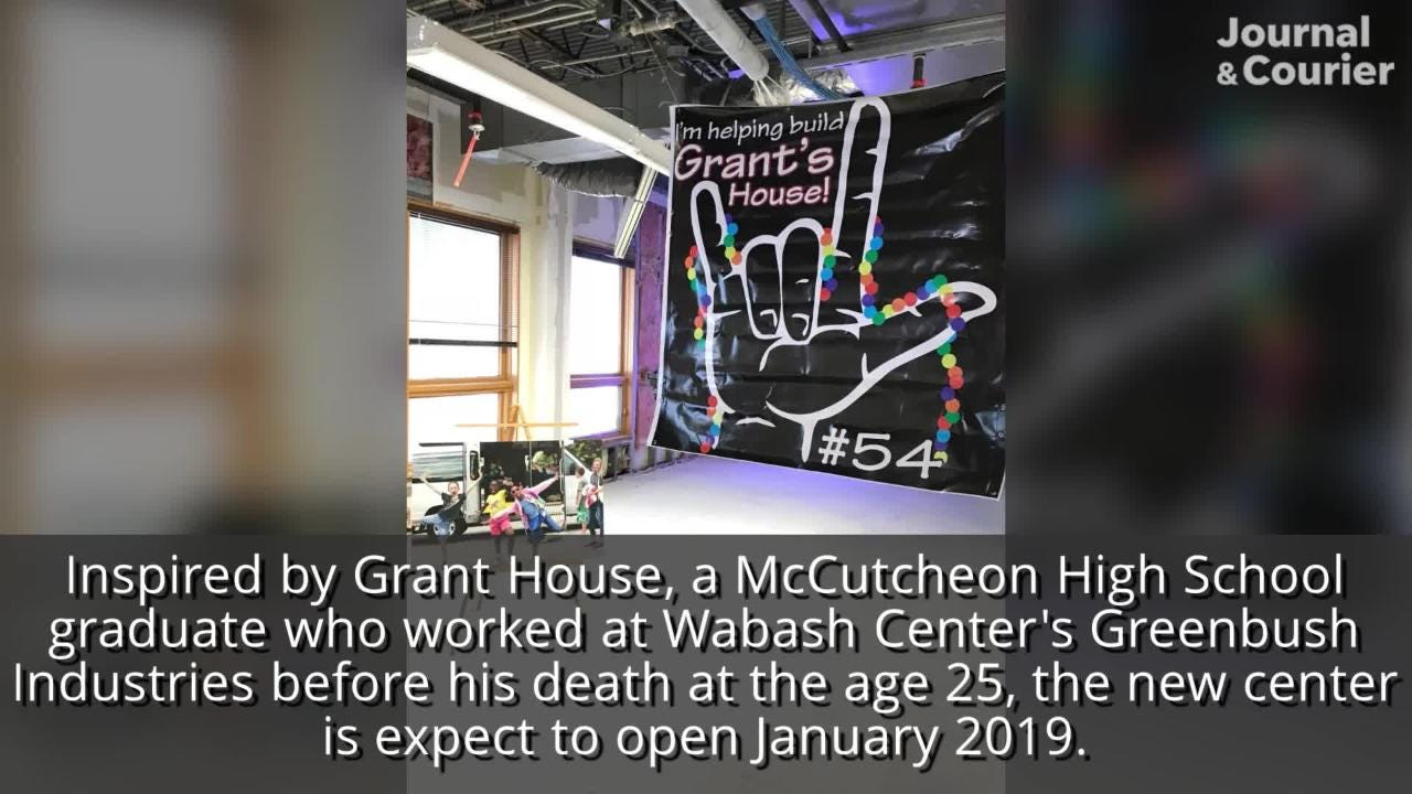 Grant's House may look like white walls and open ceilings right now, but the expansion of the Wabash Center's after school program is nearly halfway there.