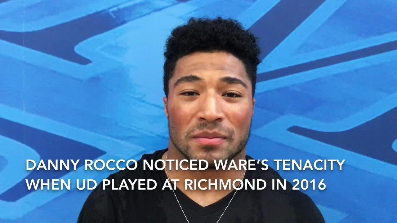 Ware's tenacity had been noticed by Rocco in Blue Hens' 2016 visit to Richmond