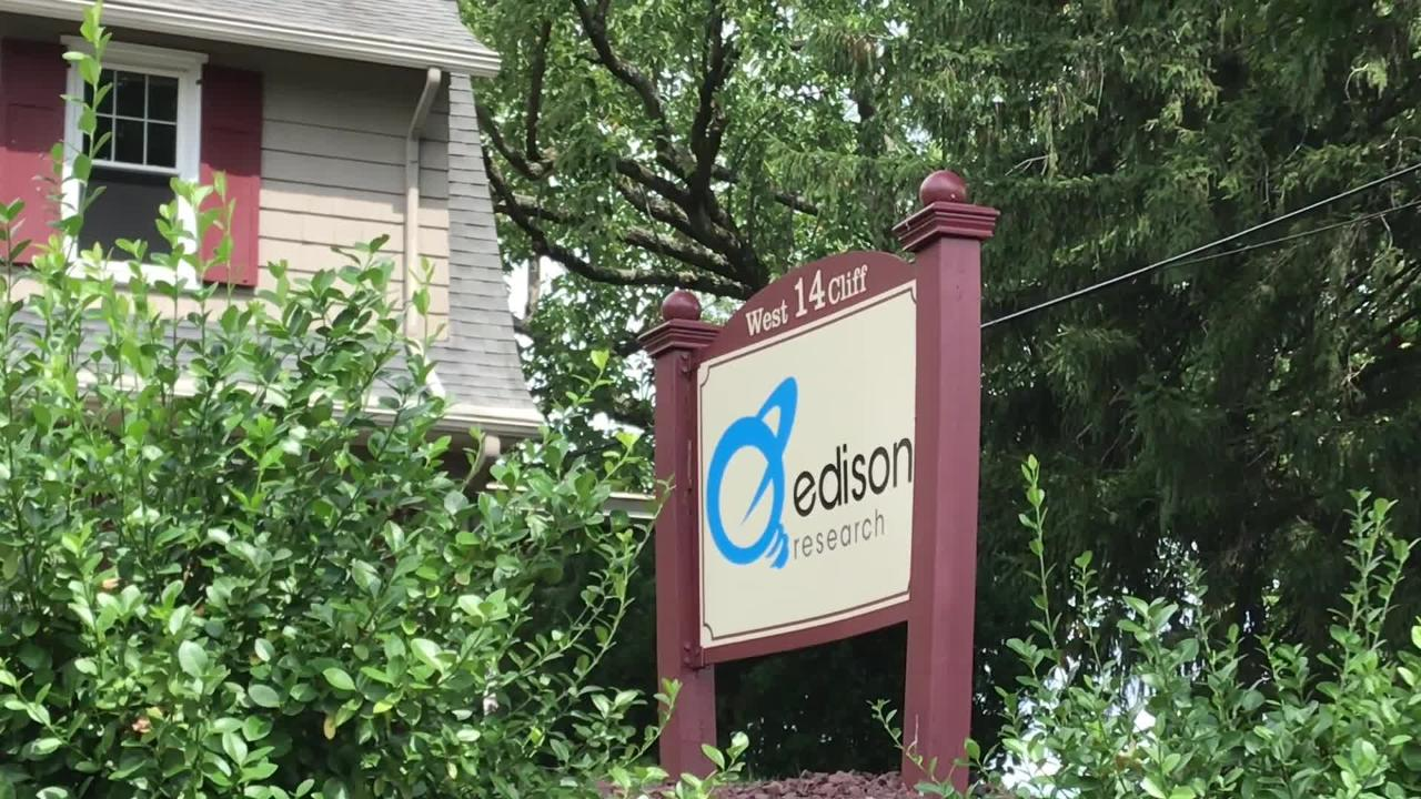 Edison Research in Somerville provides election data for the some of the nation's largest cable news networks.