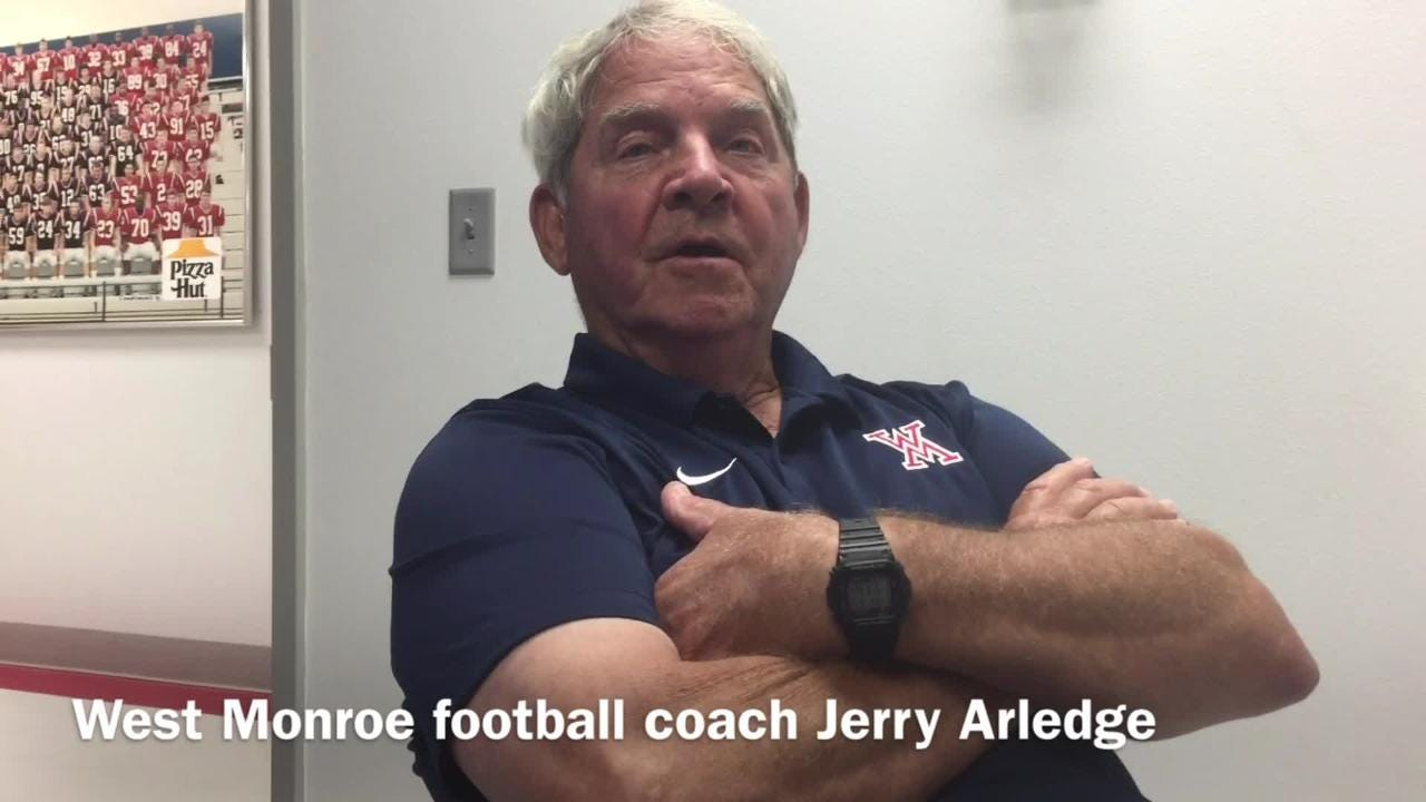 West Monroe football coach Jerry Arledge breaks down Noxubee County's offense ahead of the teams' matchup Friday.
