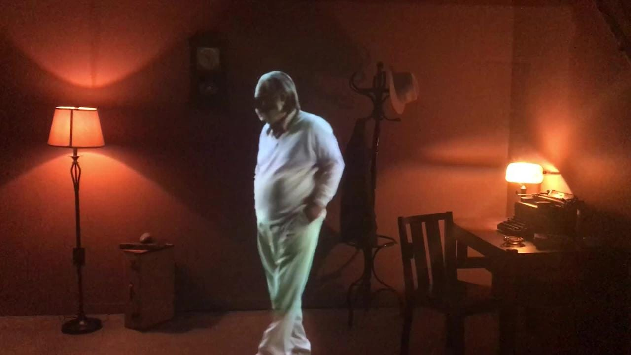 A hologram of the late writer William Saroyan is one of the features you can find out the newly opened William Saroyan House Museum in Fresno.