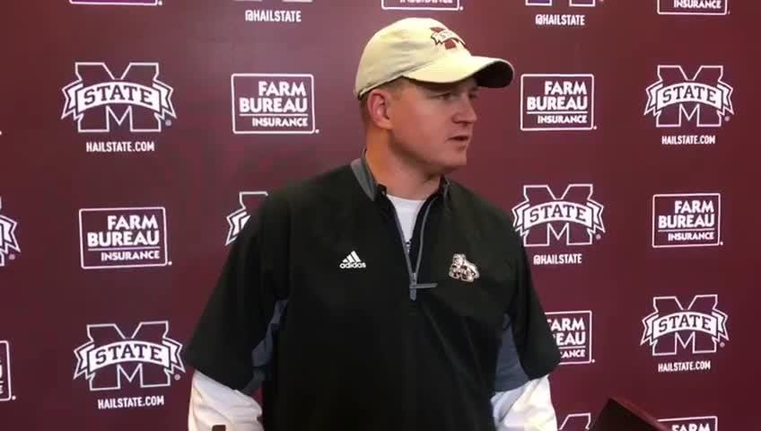 Mississippi State offensive coordinator opens up on wide receiver Stephen Guidry's performance through three games.