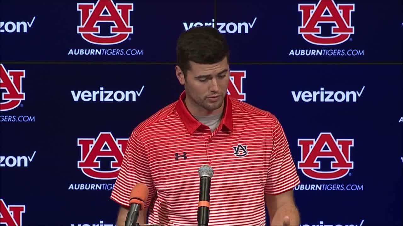 """It's good to reflect on it on Sunday and kind of get back to the drawing board and try to get better,"" the Auburn quarterback said."