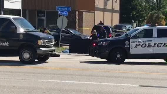 A fatal crash closed the northbound lanes of U.S. 41 at Maravilla Avenue on Wednesday, Sept. 19, 2018.