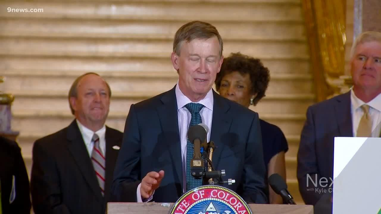 Governor John Hickenlooper answers questions about PAC, potential 2020 presidential run.