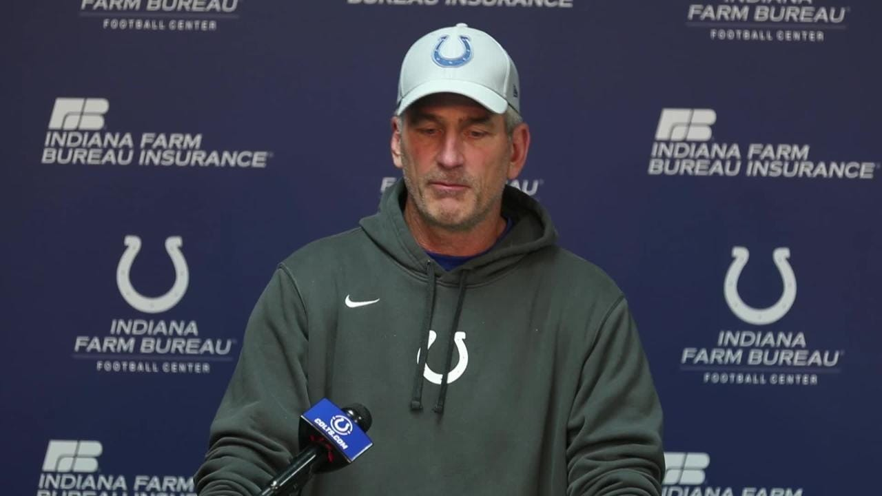 Colts' Reich talks about facing the Philadelphia Eagles