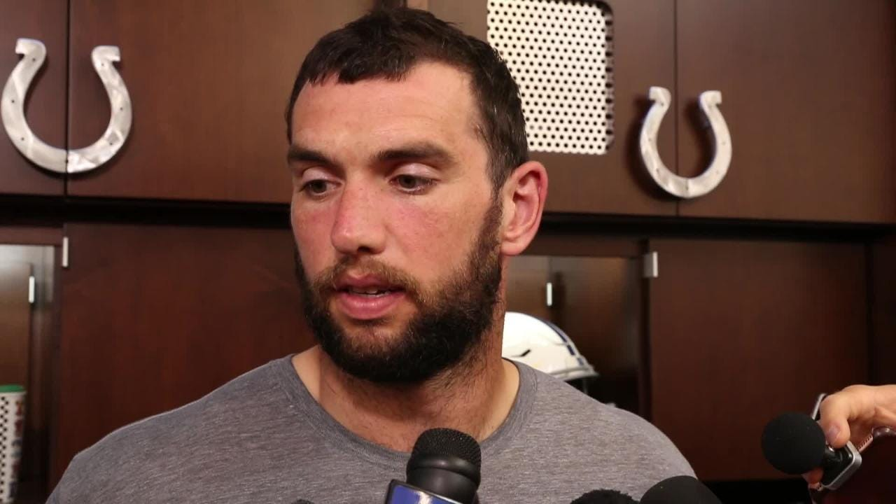 Luck ready to face Wentz, Eagles