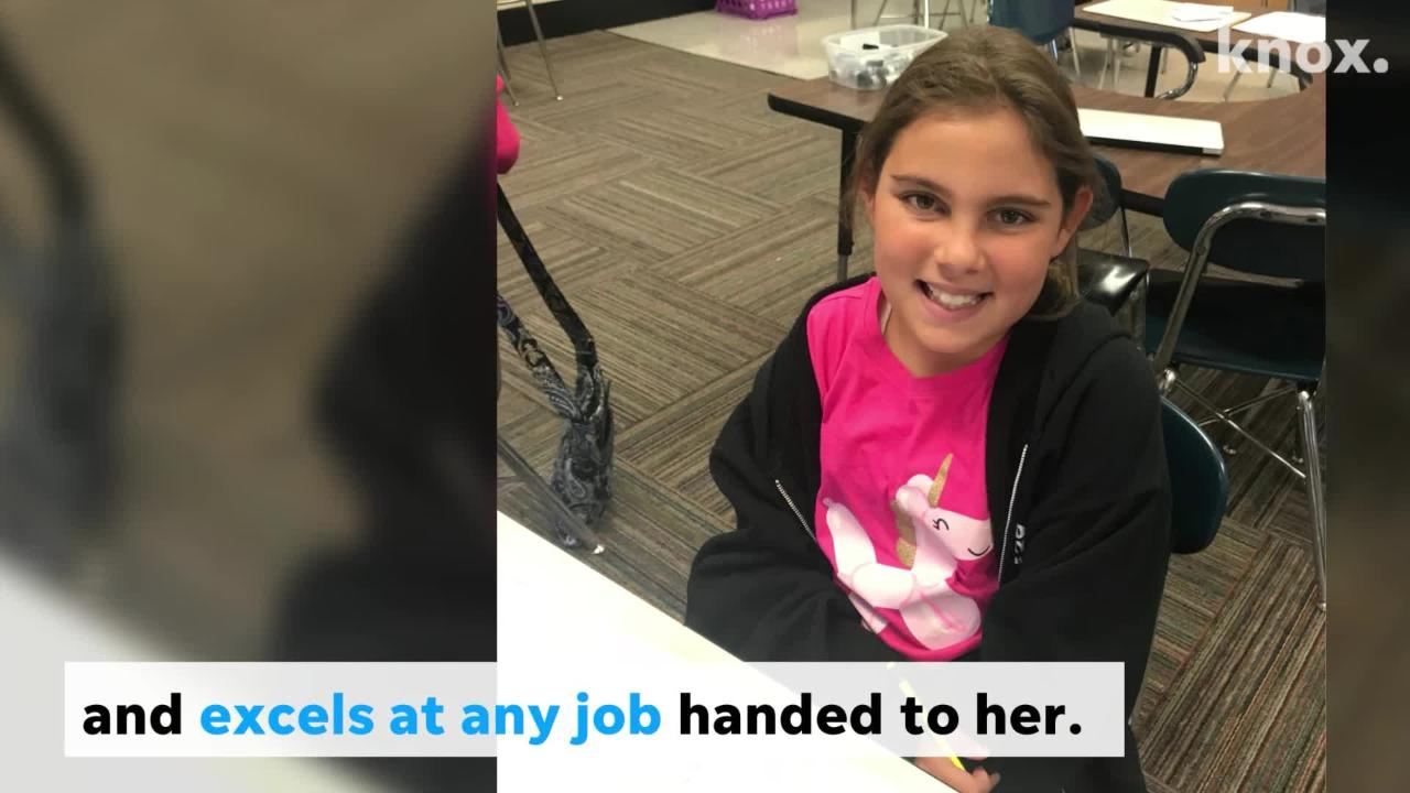Fifth Grader Helps Co-anchor Local News