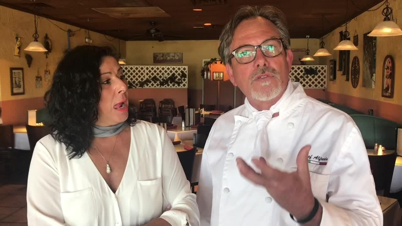 We ask 5 questions of Alfredo and Linda Giulio, owners of Alfredo's Paradiso restaurant on Merritt Island.
