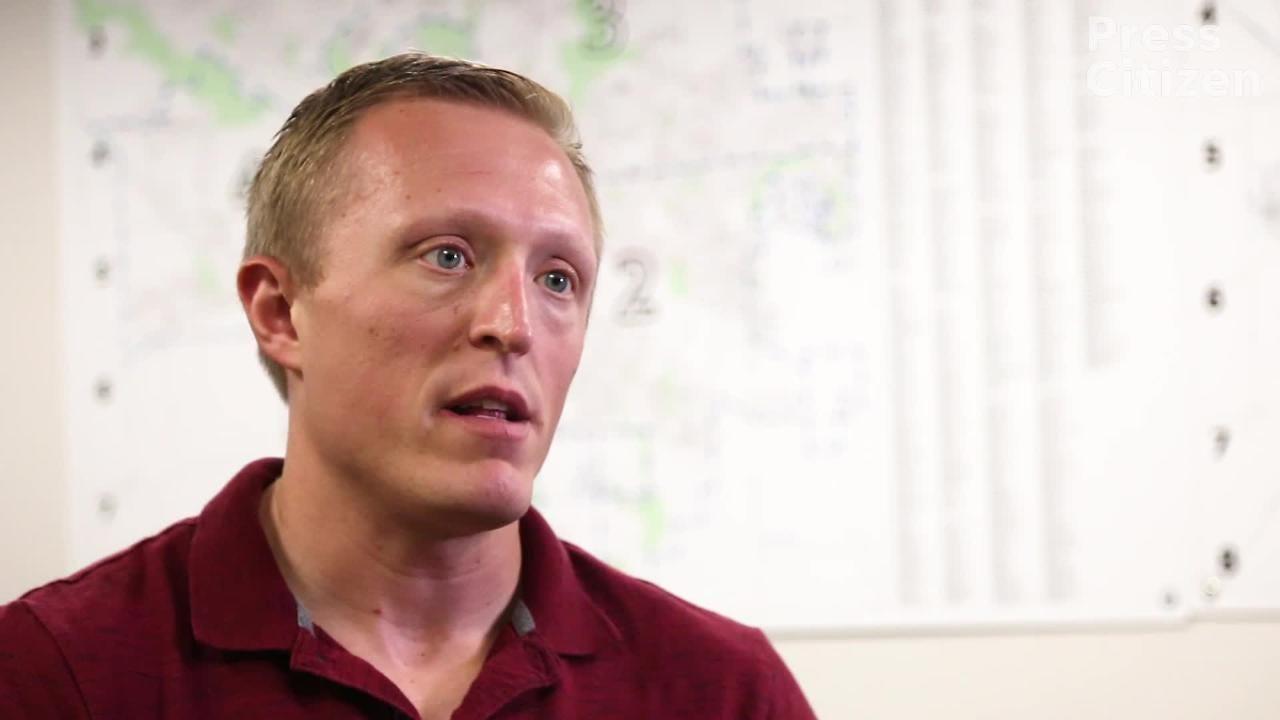 Iowa City Police domestic violence investigator