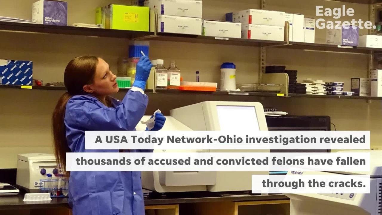 Thousands of adults charged with felonies aren't having DNA samples collected like Ohio law dictates. Find out how's it happening and why it matters.